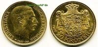 20 Kroner 1917 Dänemark Dänemark - 20 Kroner - 1917 vz  /  vz+  414,00 EUR  + 17,00 EUR frais d'envoi