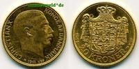 20 Kroner 1914 Dänemark Dänemark - 20 Kroner - 1914 vz+  407,00 EUR  +  17,00 EUR shipping