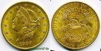 20 Dollars 1904 USA USA - 20 Dollars - 1904 vz  /  vz+  1238,00 EUR