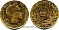 5 Pesos 1930 Uruguay Uruguay - 5 Pesos - 1930 vz  480,00 EUR  + 17,00 EUR frais d'envoi