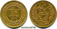 20 Francs 1901 Tunesien Tunesien - 20 Francs - 1901 vz  281,00 EUR  Excl. 17,00 EUR Verzending