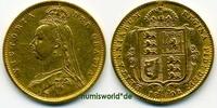 ½ Sovereign 1892 Großbritannien Großbritannien - ½ Sovereign - 1892 ss-... 173,00 EUR