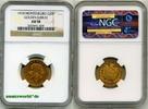 20 Perper 1910 Montenegro Montenegro - 20 Perper - 1910 NGC AU 58  1116,00 EUR  + 17,00 EUR frais d'envoi