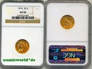 2 1/2 Dollars 1915 USA USA - 2 1/2 Dollars - 1915 NGC AU 58  333,00 EUR  +  17,00 EUR shipping