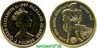 2 Pounds 1997 Falkland Inseln Falkland Inseln - 2 Pounds - 1997 PP  58,00 EUR