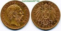 10 Mark 1898  Sachsen - 10 Mark - 1898 ss  /  vz  365,00 EUR  +  17,00 EUR shipping