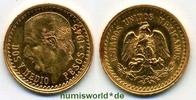 2 1/2 Pesos 1945 Mexiko Mexiko - 2 1/2 Pesos - 1945 Stg  88,00 EUR  zzgl. 6,00 EUR Versand