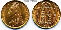1/2 Sovereign 1892 Großbritannien Großbritannien - 1/2 Sovereign - 1892... 238.94 US$ 213,00 EUR  +  35.90 US$ shipping
