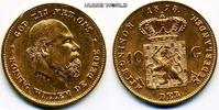 10 Gulden 1875 Niederlande Niederlande - 10 Gulden - 1875 vz+  280.94 US$ 251,00 EUR  +  35.82 US$ shipping