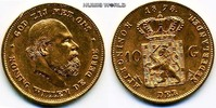 10 Gulden 1875 Niederlande Niederlande - 10 Gulden - 1875 vz+  273,00 EUR  zzgl. 6,00 EUR Versand