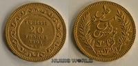 20 Francs 1901 Tunesien Tunesien - 20 Francs - 1901 vz  308.96 US$ 281,00 EUR  +  35.18 US$ shipping