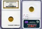 1 Peso 1898 Mexiko Mexiko - 1 Peso - 1898 NGC MS 65  408,00 EUR  + 17,00 EUR frais d'envoi