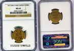 100 Francs 1930 Tunesien Tunesien - 100 Francs - 1930 NGC MS 64  724.57 US$ 659,00 EUR  +  35.18 US$ shipping