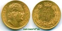 20 Dinara 1882 Serbien Serbien - 20 Dinara - 1882 vz+  489,00 EUR  + 17,00 EUR frais d'envoi