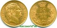 10 Dinara 1882 Serbien Serbien - 10 Dinara - 1882 vz+  259,00 EUR  zzgl. 6,00 EUR Versand