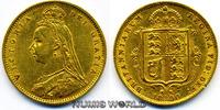 1/2 Sovereign 1890 Großbritannien / GB Großbritannien / GB - 1/2 Sovere... 190,00 EUR  excl. 17,00 EUR verzending