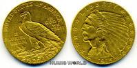 2 1/2 Dollars 1915 USA USA - 2 1/2 Dollars - 1915 vz  312,00 EUR  Excl. 17,00 EUR Verzending