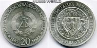 20 Mark 1987  DDR - 20 Mark - 1987 Stg  325,00 EUR  + 17,00 EUR frais d'envoi