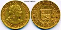 1 Libra 1919 Peru Peru - 1 Libra - 1919 vz  /  vz+  369,00 EUR  Excl. 17,00 EUR Verzending