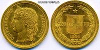 20 Franken 1886 Schweiz Schweiz - 20 Franken - 1886 vz+  326,00 EUR  + 17,00 EUR frais d'envoi
