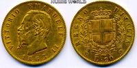 20 Lire 1863 Italien Italien - 20 Lire - 1863 ss  /  vz  270,00 EUR  + 17,00 EUR frais d'envoi