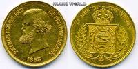 10000 Reis 1853 Brasilien Brasilien - 10000 Reis - 1853 vz+  970,00 EUR  zzgl. 6,00 EUR Versand