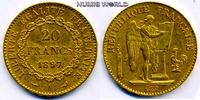 20 Francs 1897 Frankreich Frankreich - 20 Francs - 1897 ss  /  vz  287,00 EUR  + 17,00 EUR frais d'envoi