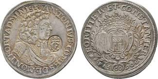 Gulden zu 60 Kreuzer 1690 Langenargen Mont...