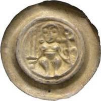 Brakteat 1221-1288 Sachsen-Meißen, Markgrafschaft Heinrich der Erlauchte 1221-1288 Sehr schön - vorzüglich