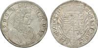 2/3 Taler 1689 IGS Sachsen-Meiningen Bernhard 1680-1706 Winz. Prägeschw... 325,00 EUR kostenloser Versand