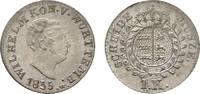 Kreuzer 1835 Württemberg Wilhelm I. 1816-1864 Prachtexemplar. Fast Stem... 165,00 EUR kostenloser Versand