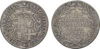 Kopfstück 1724 Fulda, Bistum Constantin von Buttlar 1714-1726 Sehr selt... 265,00 EUR kostenloser Versand