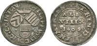 Albus zu 8 Pfennigen 1609 Hanau-Münzenberg Philipp Ludwig II. 1580-1612... 285,00 EUR kostenloser Versand