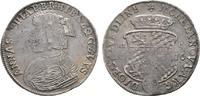 2/3 Taler 1676 HIC Quedlinburg, Abtei Anna Sophia von Pfalz-Birkenfeld ... 425,00 EUR kostenloser Versand