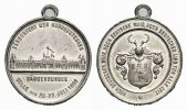 Tragbare Zinnmedaille 1883 Celle, Stadt  Fast vorzüglich  27,00 EUR  zzgl. 3,00 EUR Versand
