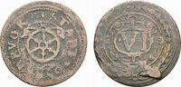 Cu 6 Pfennig 1597 Osnabrück, Stadt  Selten. Stempelfehler, schön - sehr... 88,00 EUR  zzgl. 5,00 EUR Versand