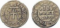2 Mariengroschen 1655 Neuhaus Paderborn, Bistum Theodor Adolf von der R... 59,00 EUR  zzgl. 5,00 EUR Versand