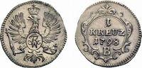 Kreuzer 1798 B Brandenburg-Preußen Friedrich Wilhelm III. 1797-1840 Vor... 39,00 EUR  zzgl. 3,00 EUR Versand
