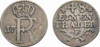 1/48 Taler 1765 F, Magdeburg Brandenburg-Preußen Friedrich II. 1740-178... 78,00 EUR  zzgl. 5,00 EUR Versand