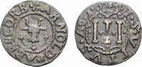 Cu 3 Pfennig 1641 Höxter Corvey, Abtei Arnold von Waldois 1638-1661 Seh... 108,00 EUR kostenloser Versand