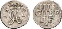 4 Gute Pfennige 1683 Höxter Corvey, Abtei Christoph von Bellinghausen 1... 98,00 EUR  zzgl. 5,00 EUR Versand