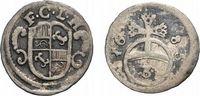 3 Pfennig 1683 Höxter Corvey, Abtei Christoph von Bellinghausen 1678-16... 58,00 EUR  zzgl. 5,00 EUR Versand