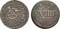 Cu 9 Pfennig 1625 Osnabrück, Stadt  Leichte Verprägung auf der Vorderse... 48,00 EUR  zzgl. 3,00 EUR Versand