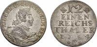 1/12 Taler 1754 C, Kleve Brandenburg-Preußen Friedrich II. 1740-1786 Se... 68,00 EUR  zzgl. 5,00 EUR Versand