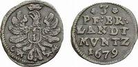 3 Pfennig 1679 CS Berlin Brandenburg-Preußen Friedrich Wilhelm 1640-168... 59,00 EUR  zzgl. 5,00 EUR Versand