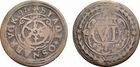 Cu 6 Pfennig 1597 Osnabrück, Stadt  Selten. Schön - sehr schön  88,00 EUR  zzgl. 5,00 EUR Versand