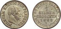 1/2 Silbergroschen 1868 B Brandenburg-Preußen Wilhelm I. 1861-1888 Selt... 49,00 EUR  zzgl. 3,00 EUR Versand