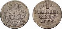 Mariengroschen 1752 F, Magdeburg Brandenburg-Preußen Friedrich II. 1740... 48,00 EUR  zzgl. 3,00 EUR Versand
