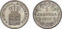 Kreuzer 1867 Württemberg Karl 1864-1891 Fast Stempelglanz  18,00 EUR  zzgl. 3,00 EUR Versand