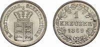 Kreuzer 1869 Württemberg Karl 1864-1891 Fast Stempelglanz  18,00 EUR  zzgl. 3,00 EUR Versand